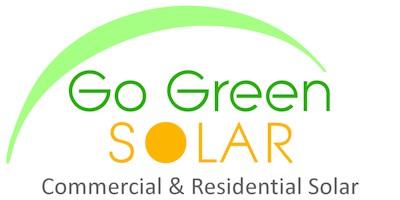 Go Green SOLAR Logo
